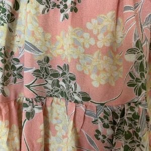 William Rast Tops - Beautiful Floral off shoulder Ruffle Blouse M New